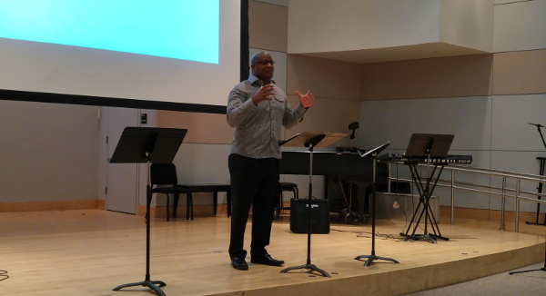 Mack Strong Preaching at Palouse Church of Christ